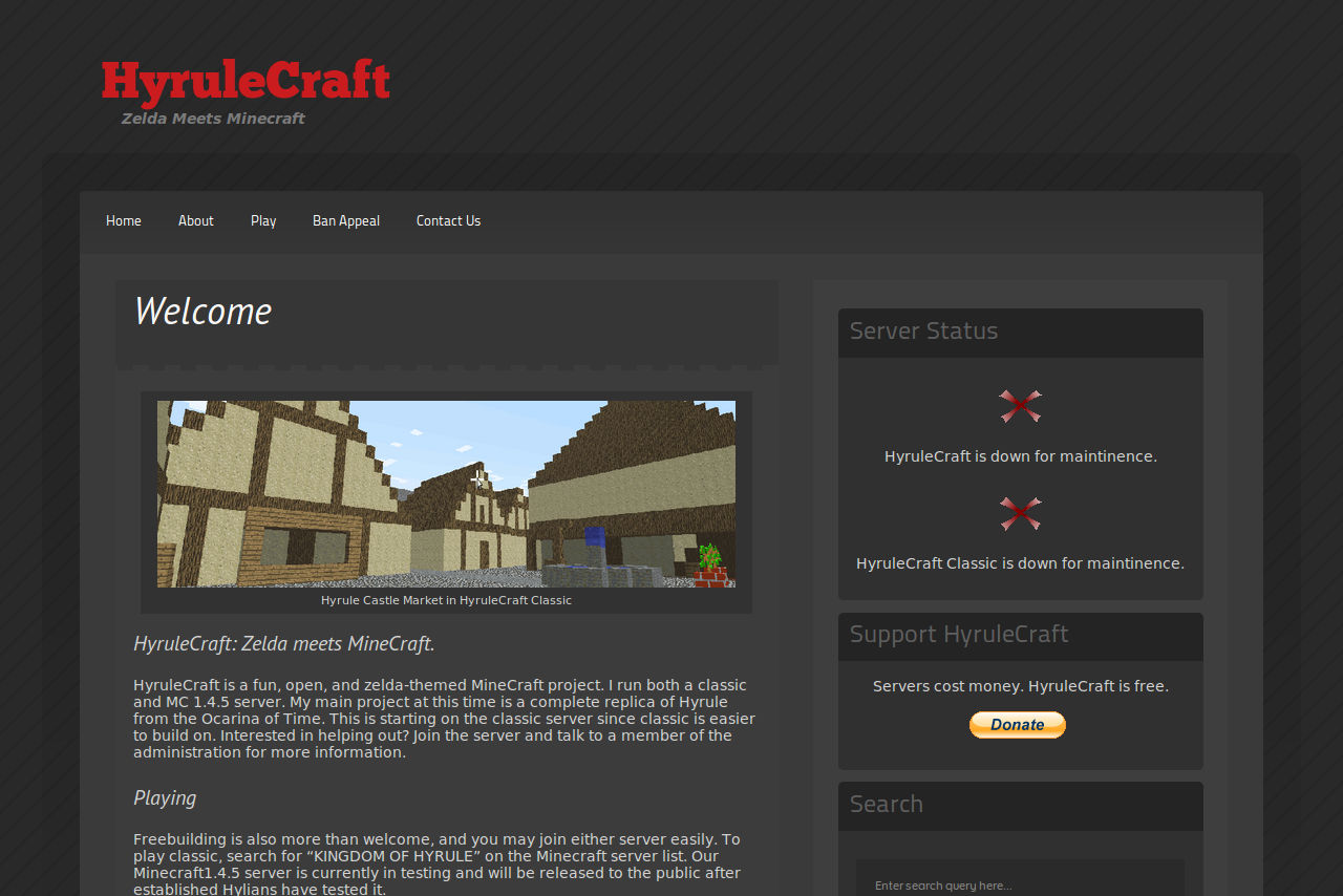 HyruleCraft Screenshot